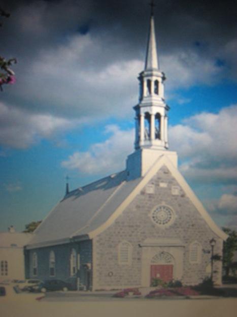 L'église de Beaumont, ou se sont mariés Françoise Adam et Hugh Fraser,