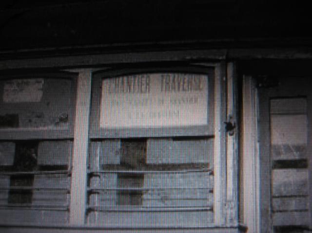Le tramway No 83 de  la Levis County Railway, en service entre le chantier Davie et la Traverse