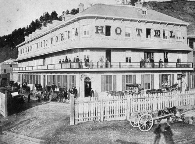 L'hôtel Victoria dans toute sa splendeur