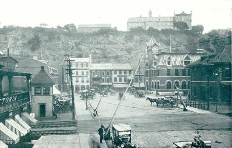 Traverse - Rue Laurier 1920