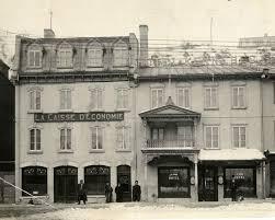 Traverse - Caisse d'économie - 1900