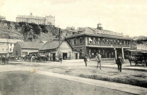Traverse - Gare intercolonial vers 1900