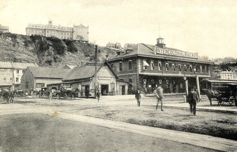 Traverse - Gare intercolonial vers 1900