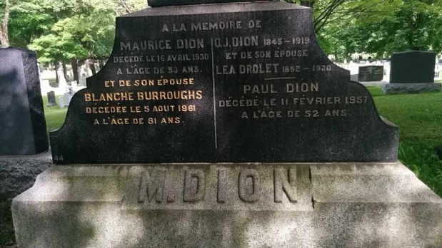 Dion monument 3