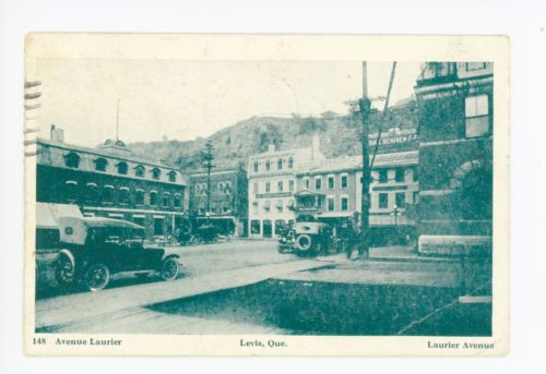 Traverse - Laurier avenue - 1915