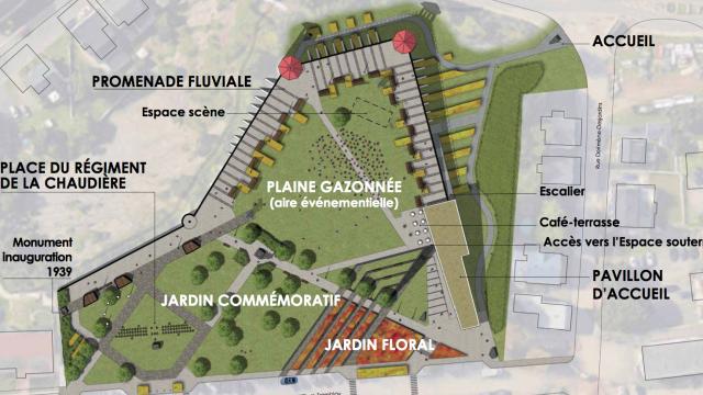 Terrasse chevalier - Plan d'aménagement 6